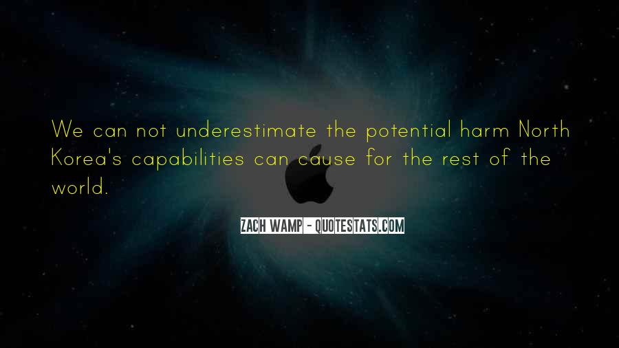Quotes About Underestimate Someone #116692