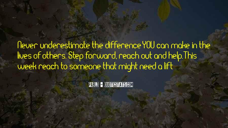 Quotes About Underestimate Someone #1819852