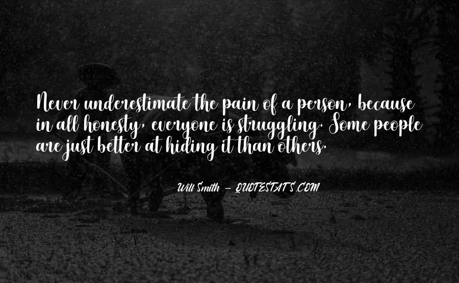 Quotes About Underestimate Someone #83329
