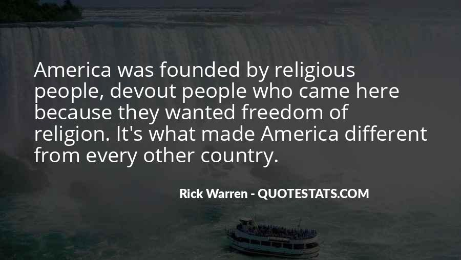 Quotes About Religious Freedom In America #1383661