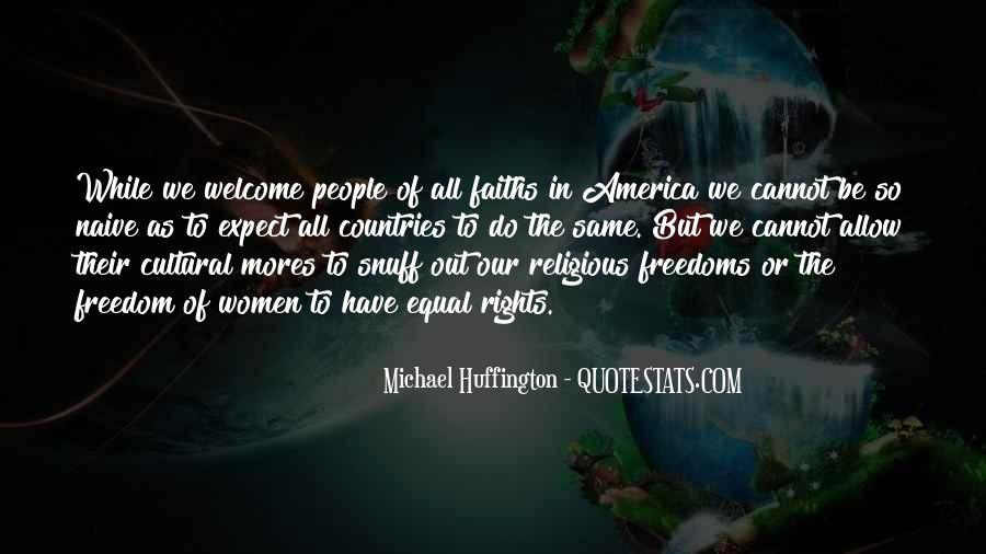Quotes About Religious Freedom In America #282089