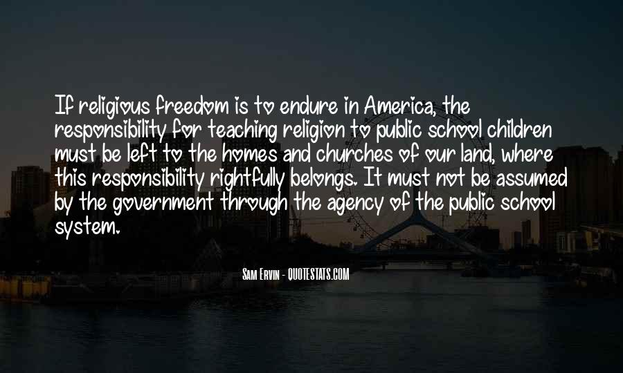 Quotes About Religious Freedom In America #862931