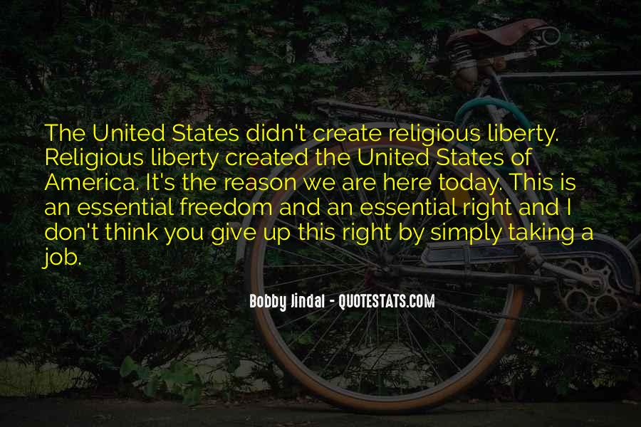 Quotes About Religious Freedom In America #863530