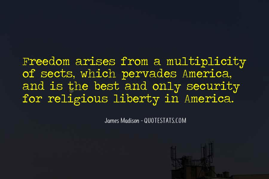 Quotes About Religious Freedom In America #975024