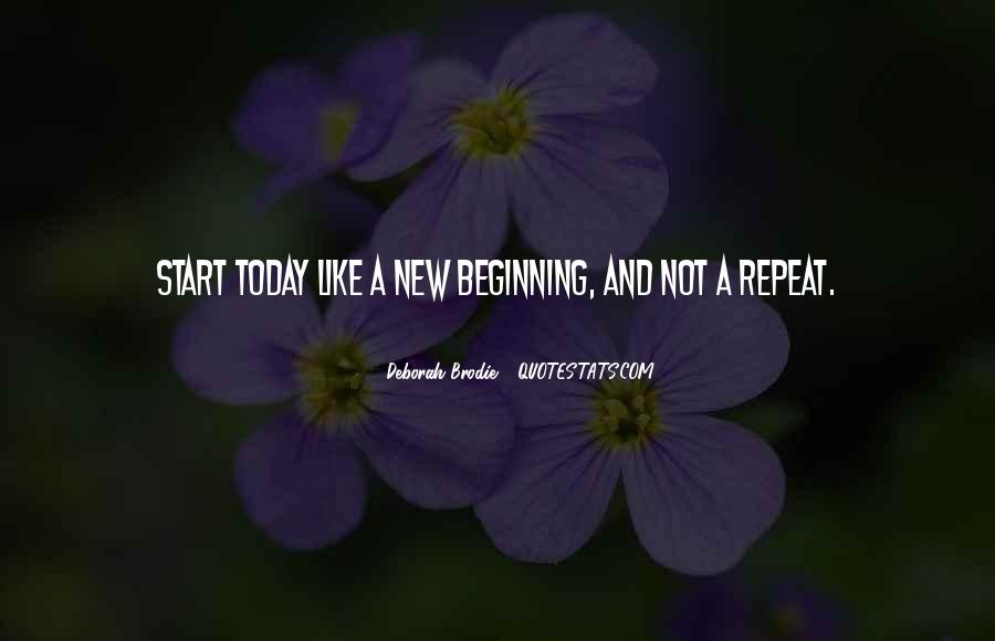 Quotes About New Beginning Love #1205612