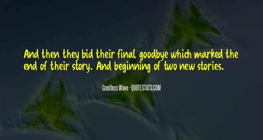 Quotes About New Beginning Love #1372579