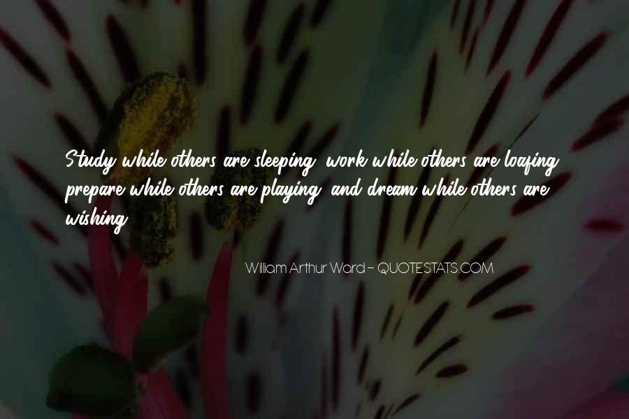 Quotes About Sleeping At Work #150275