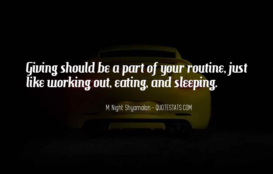 Quotes About Sleeping At Work #1711727