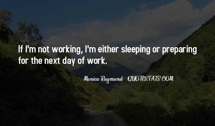 Quotes About Sleeping At Work #1830201