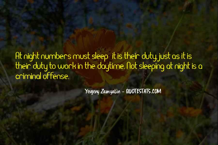 Quotes About Sleeping At Work #461880