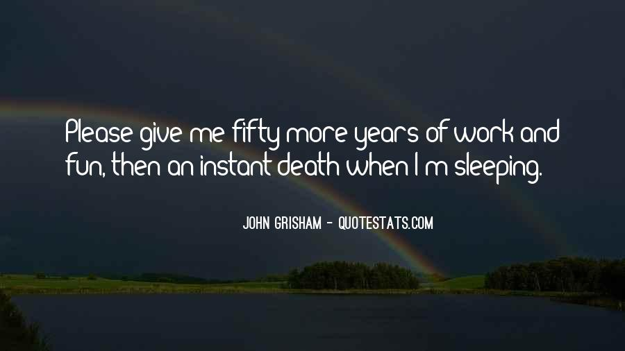 Quotes About Sleeping At Work #746805