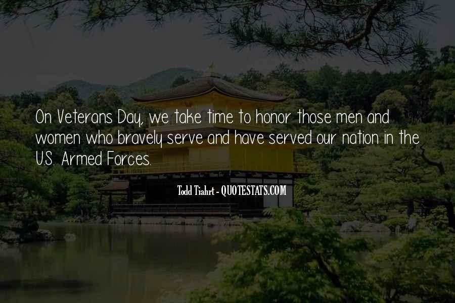 Quotes About Those Who Have Served #900096