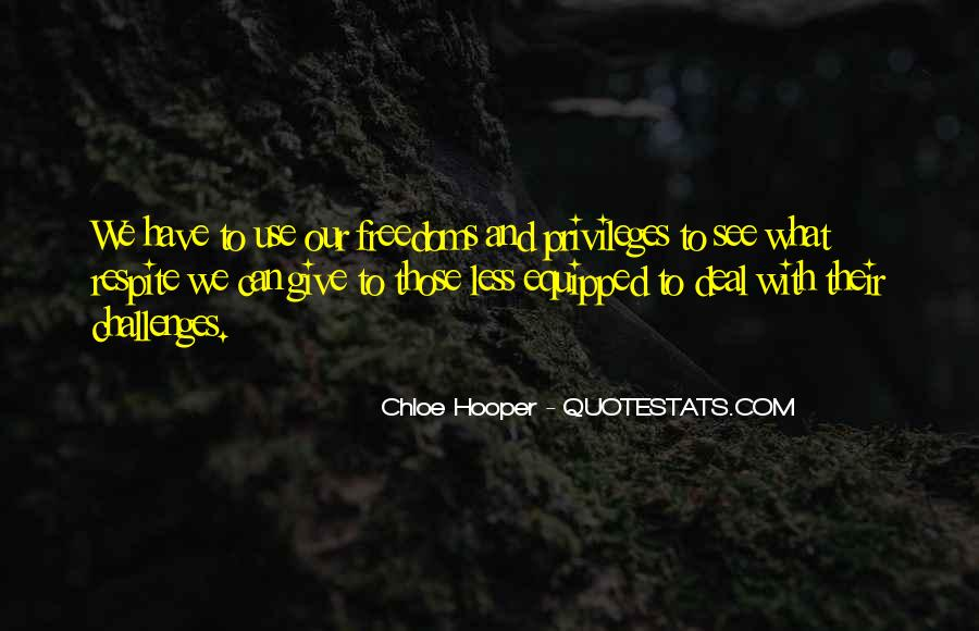 Quotes About Freedoms #163474
