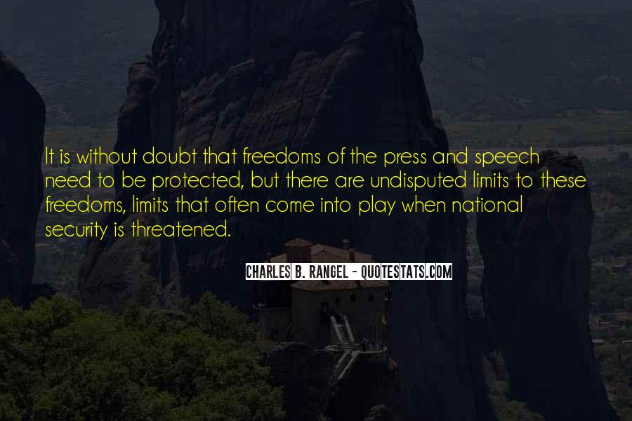 Quotes About Freedoms #16444