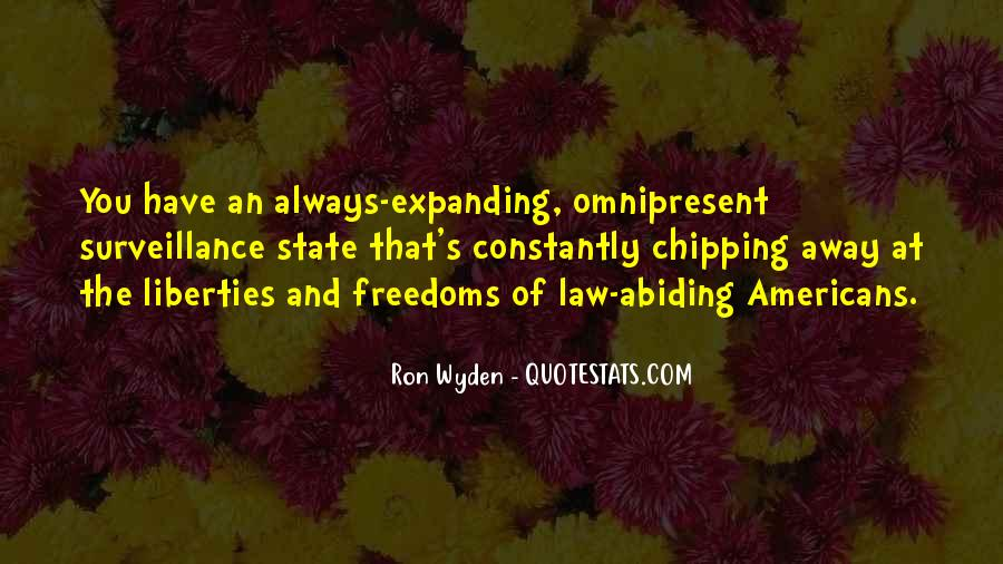 Quotes About Freedoms #221050