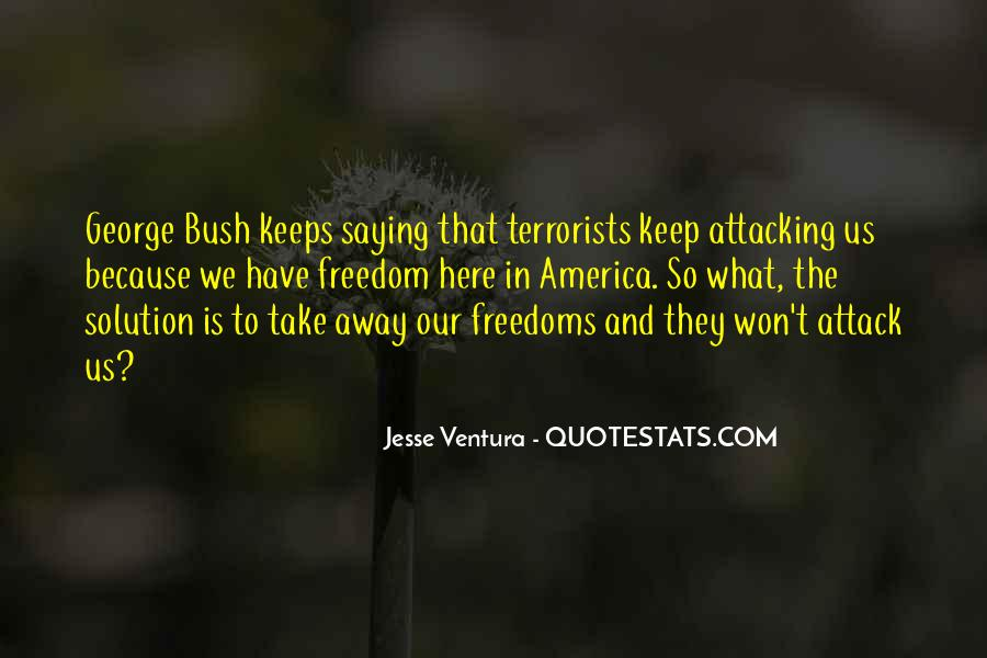 Quotes About Freedoms #231370