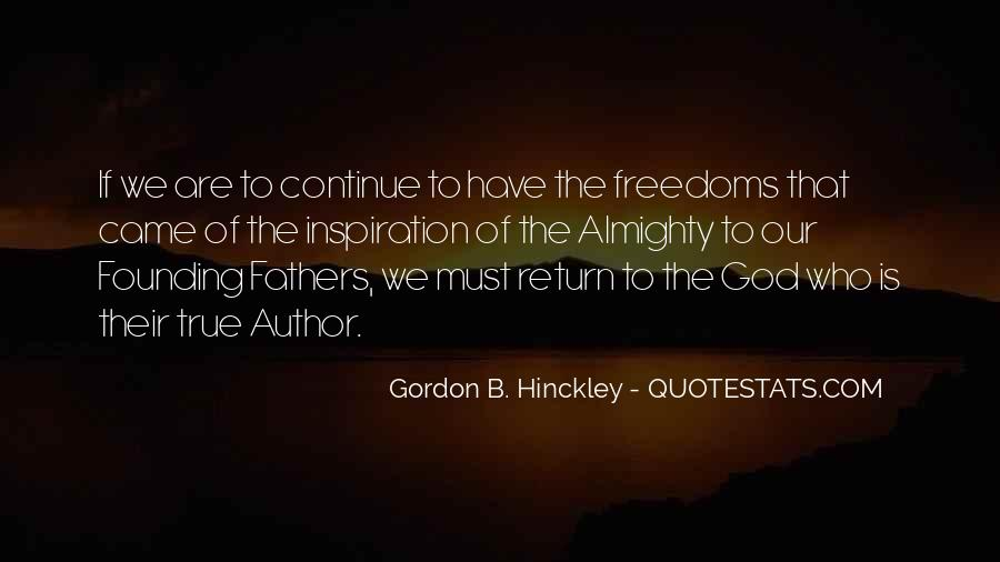 Quotes About Freedoms #244759