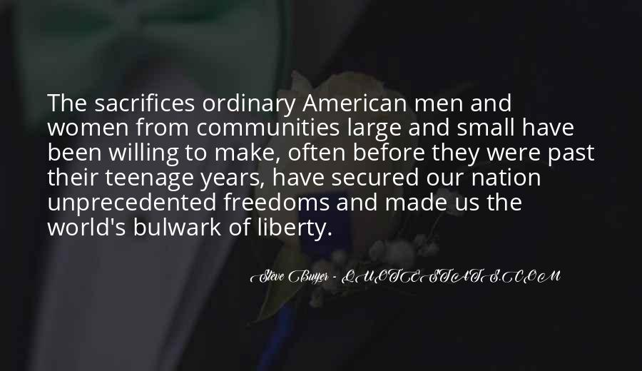 Quotes About Freedoms #247675