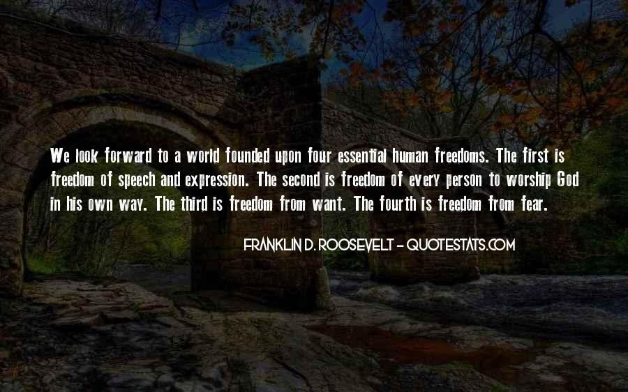 Quotes About Freedoms #268905