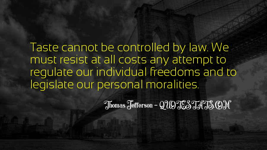 Quotes About Freedoms #288908
