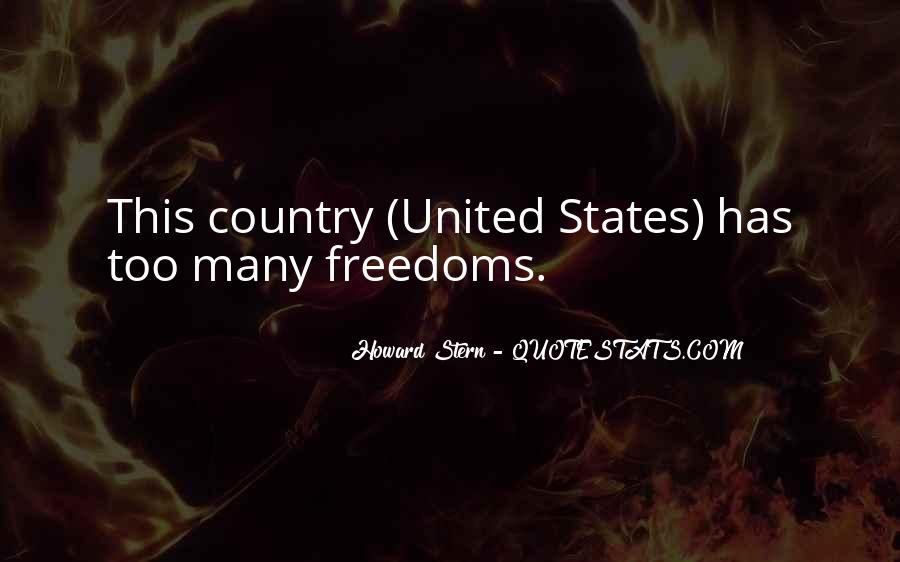Quotes About Freedoms #333217