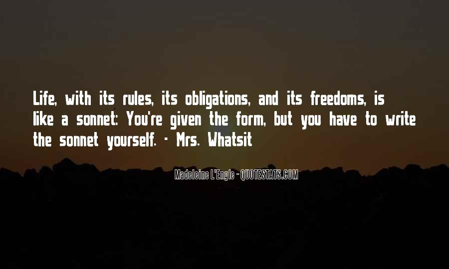 Quotes About Freedoms #377087
