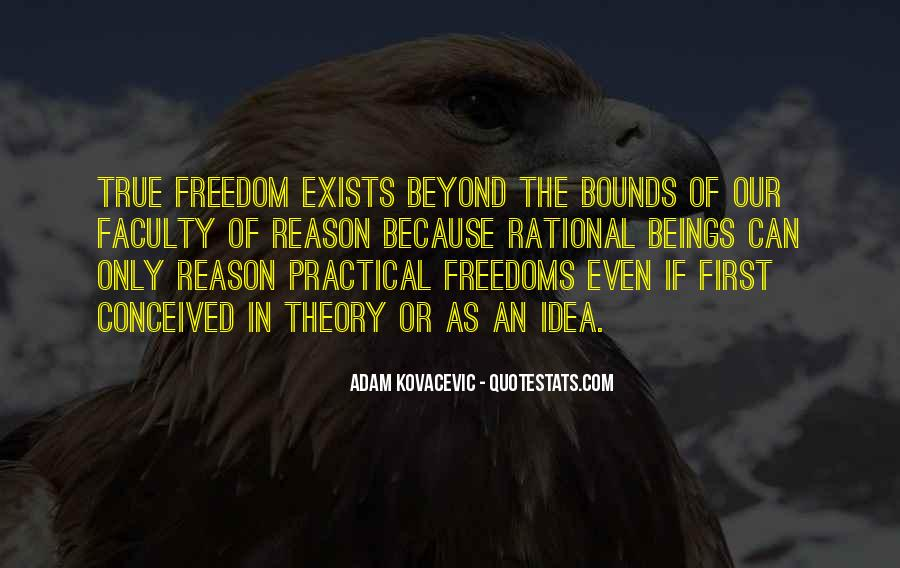 Quotes About Freedoms #492892