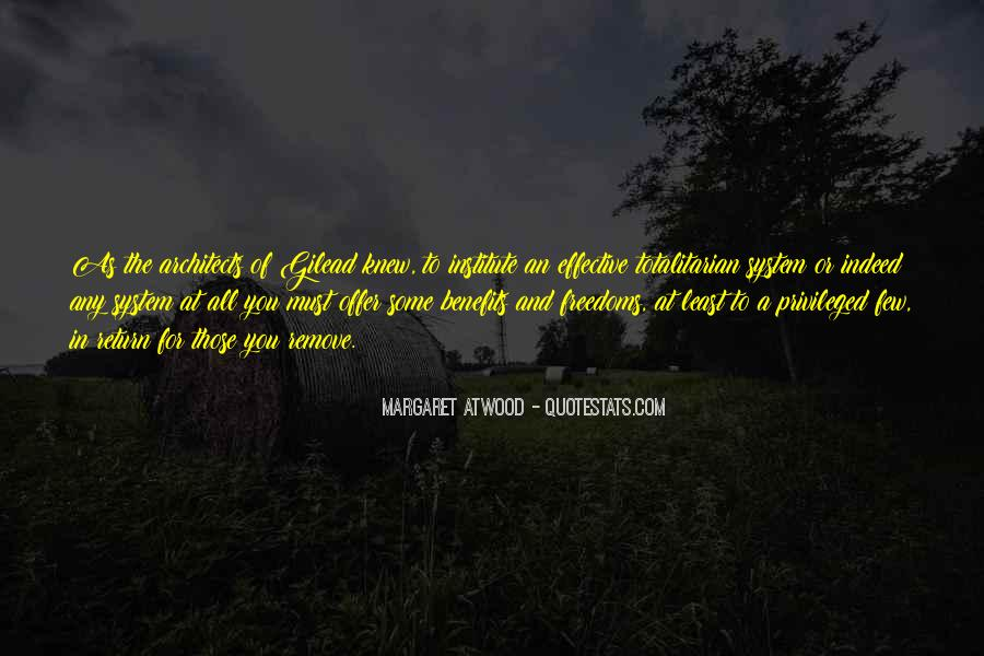 Quotes About Freedoms #89680