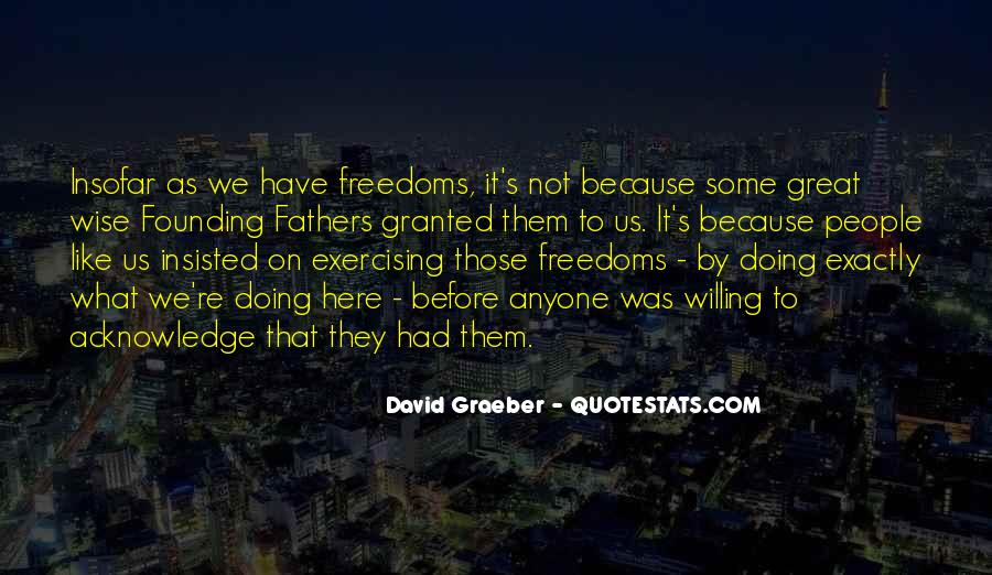 Quotes About Freedoms #91612