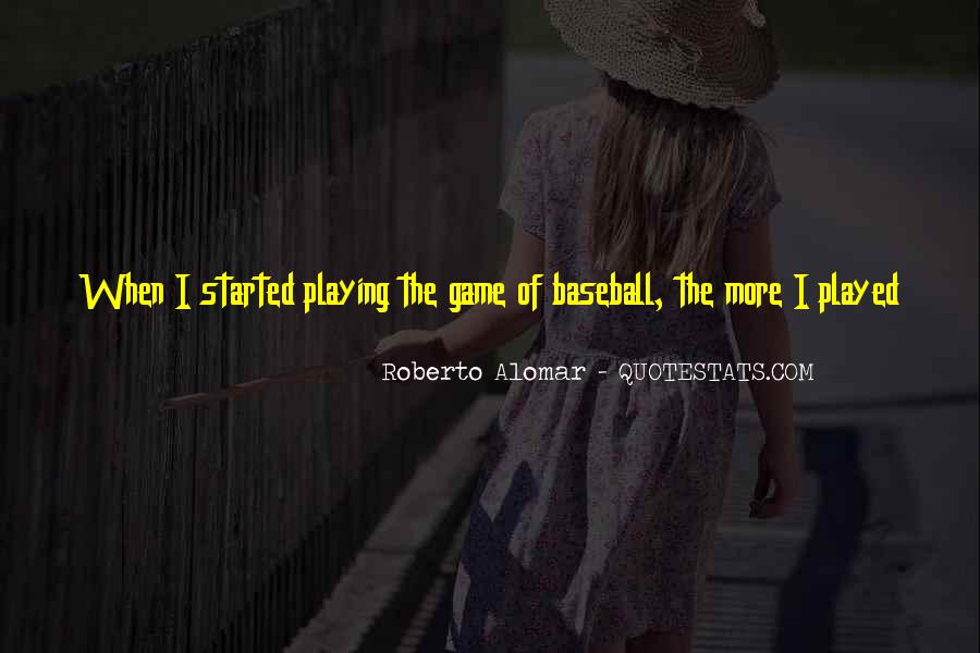 Quotes About Baseball Hall Of Fame #1088553