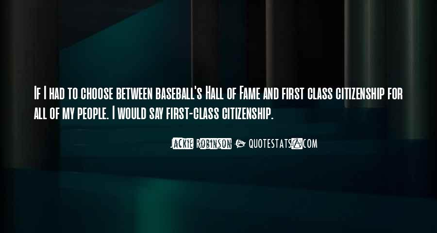 Quotes About Baseball Hall Of Fame #42840