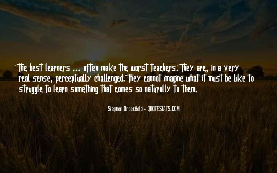 Quotes About Learners #1064577