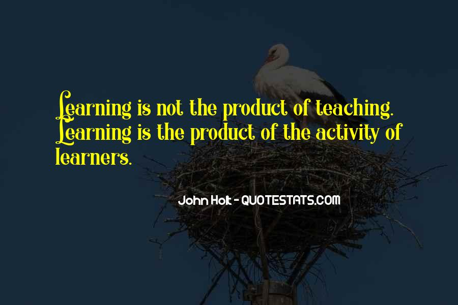 Quotes About Learners #1083078