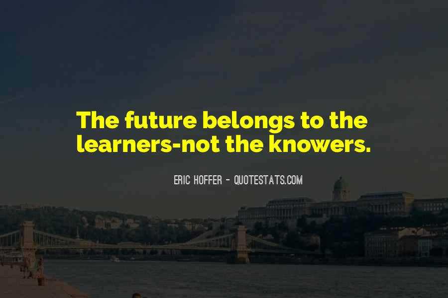 Quotes About Learners #214134