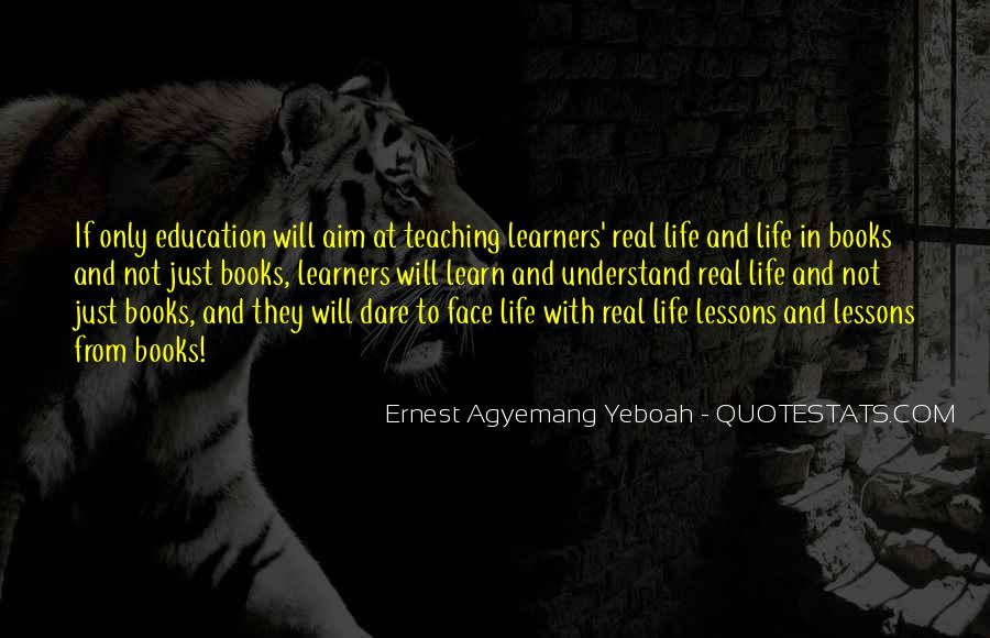 Quotes About Learners #299278
