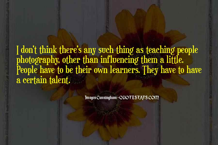 Quotes About Learners #475596