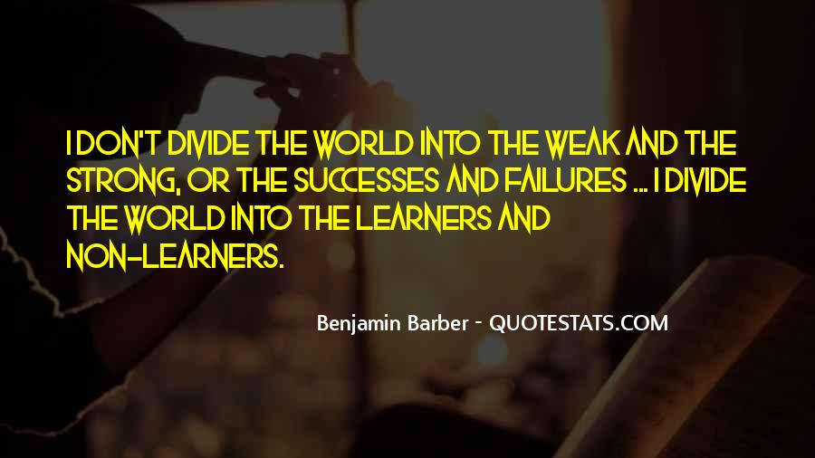 Quotes About Learners #632216