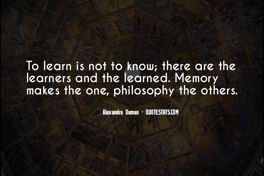 Quotes About Learners #765727