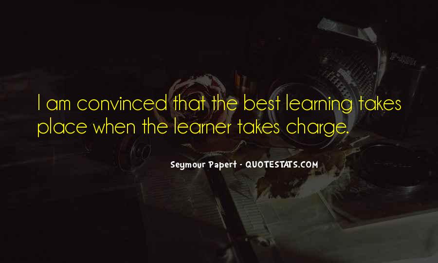 Quotes About Learners #980546