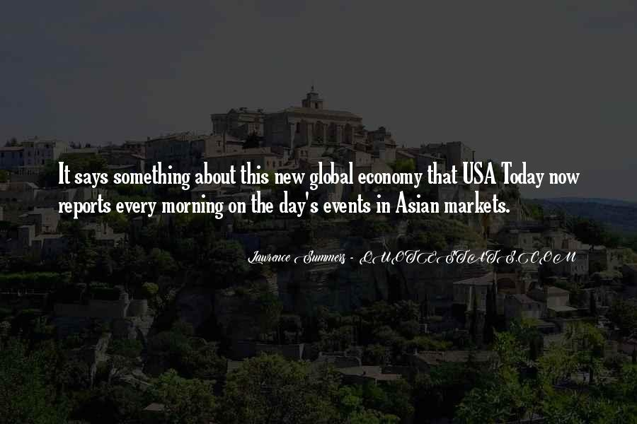 Quotes About Asian Economy #630806