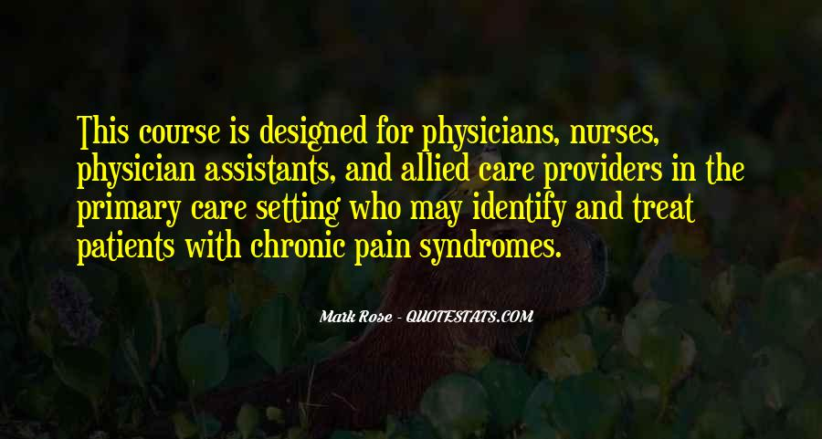 Quotes About Care Assistants #720368