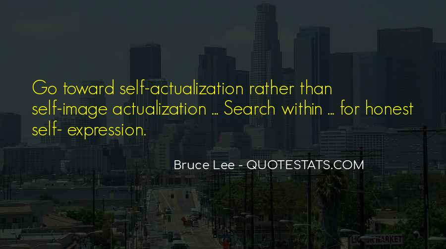 Quotes About Actualization #1213359
