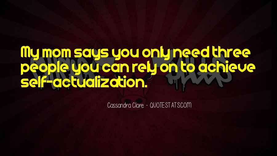 Quotes About Actualization #1304197