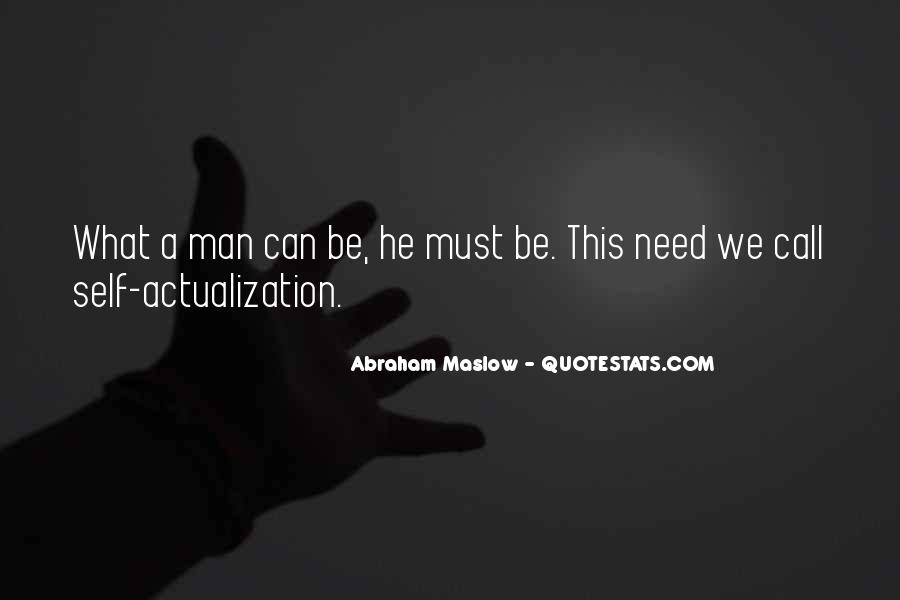 Quotes About Actualization #1566944