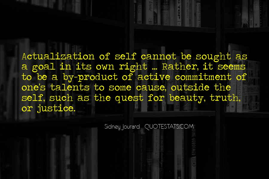 Quotes About Actualization #683935