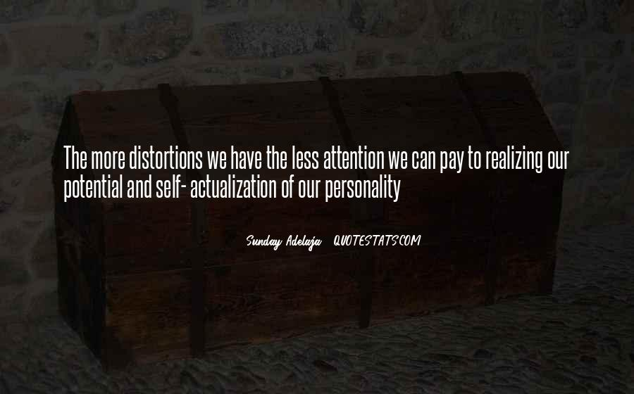 Quotes About Actualization #893682