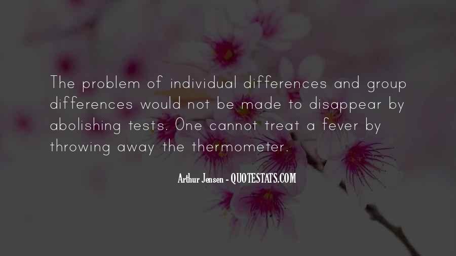 Quotes About Individual Differences #1141072