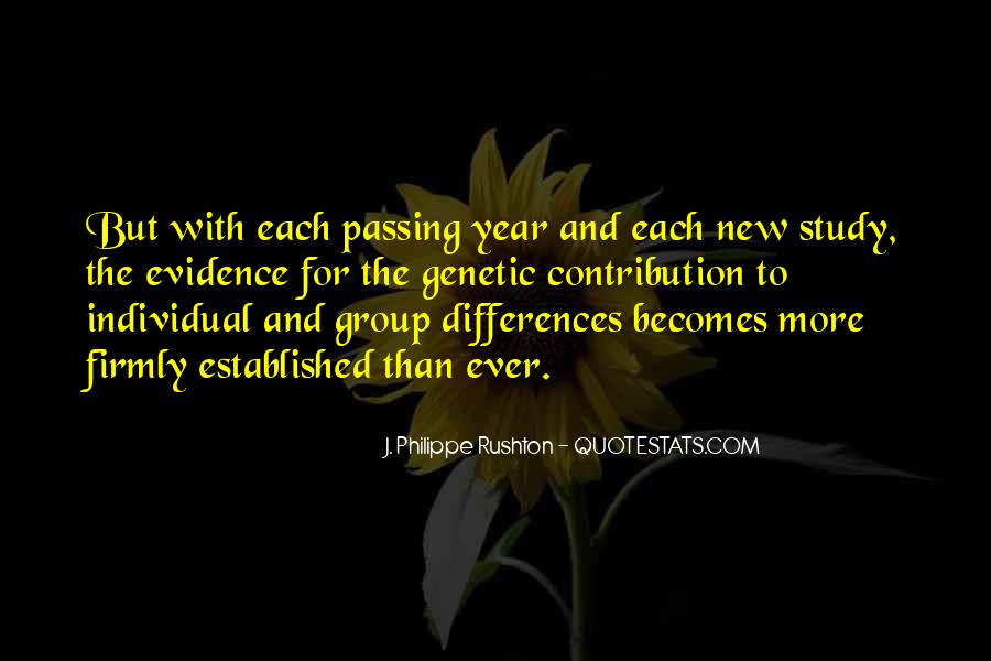 Quotes About Individual Differences #1271029