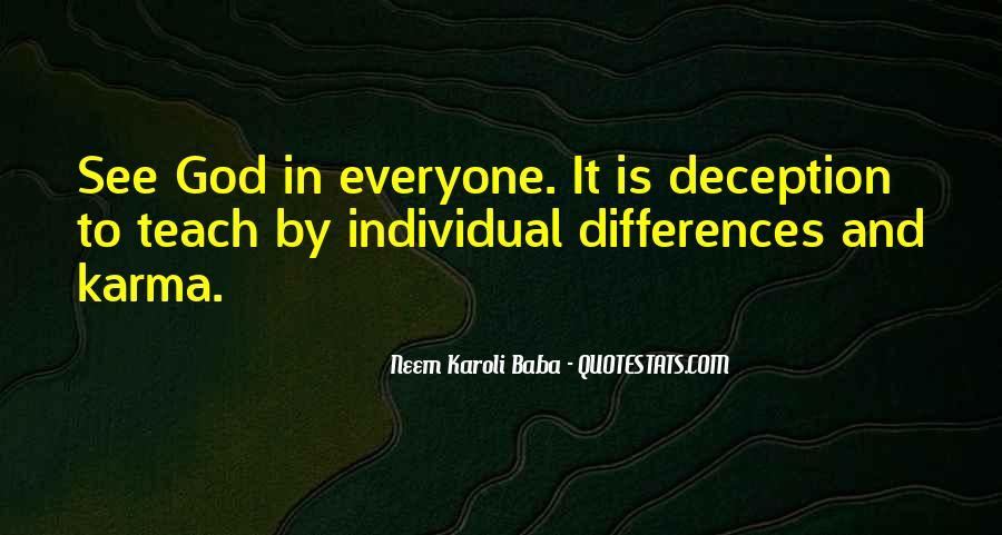 Quotes About Individual Differences #1395161