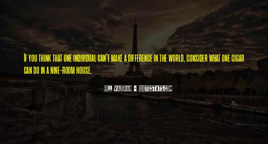 Quotes About Individual Differences #1401057